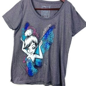 Disney Tinkerbell Short Sleeve Graphic Tee